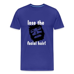 The Facial Hair Tee - Men's Premium T-Shirt