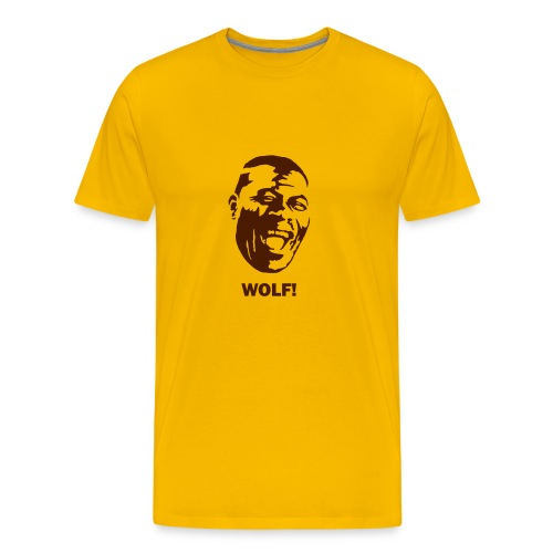 Wolf Head - Men's Premium T-Shirt