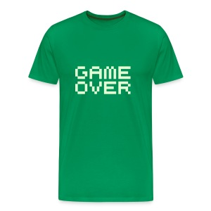 Game Over Green Tape Confort T - Men's Premium T-Shirt