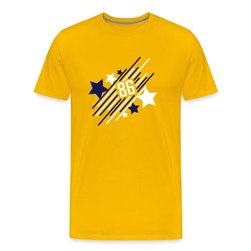 '86 Allstar - Shirt - gelb - Männer Premium T-Shirt