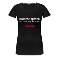 T-Shirts ~ Frauen Premium T-Shirt ~ dasBahnblog-Girlie-Shirt