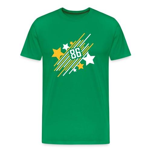 '86 Allstar - Shirt - grün - Männer Premium T-Shirt