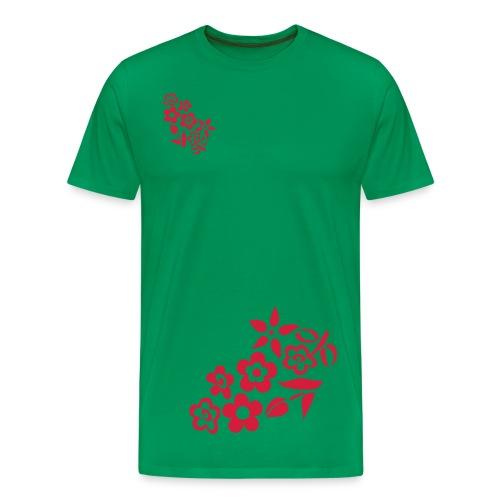 Flower power shirt - Herre premium T-shirt