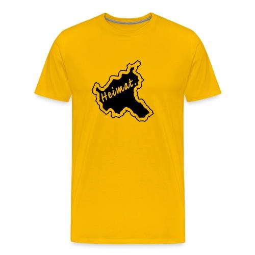 T-Shirt Heimat Land Hamburg - Männer Premium T-Shirt
