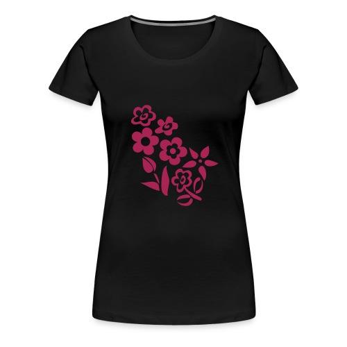 Flower3 - T-shirt Premium Femme