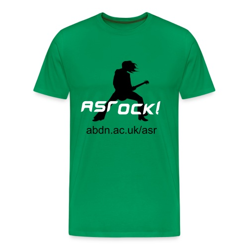 ASRock! Green - Men's Premium T-Shirt
