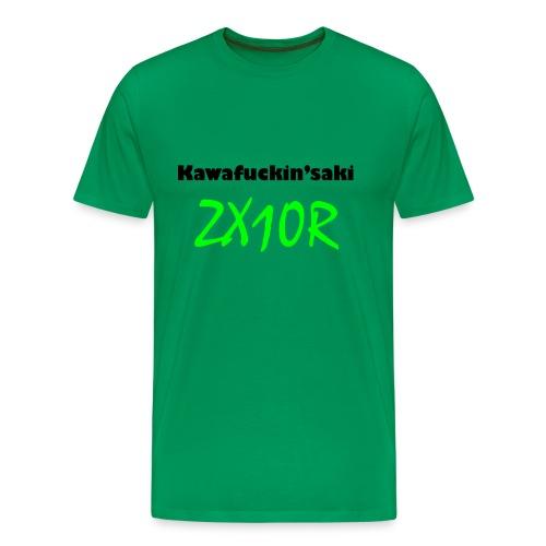 Kawa ZX10R Green - Männer Premium T-Shirt