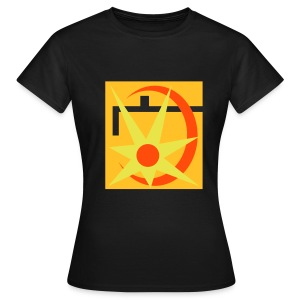 Girlie-Shirt im Retro-Design - Frauen T-Shirt