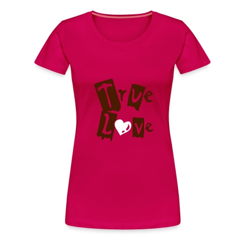 true new styl girl - Camiseta premium mujer