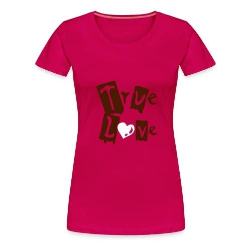 true new styl girl - Camiseta premium mujer