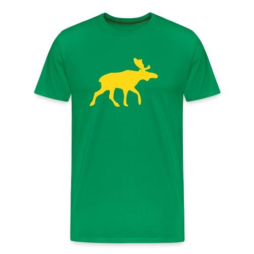 Elg, T-skjorte - Premium T-skjorte for menn
