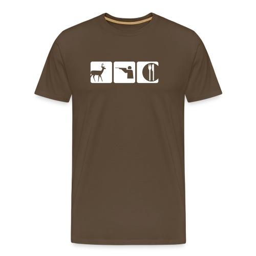 Jägermeister - Animal - Männer Premium T-Shirt