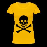 T-Shirts ~ Women's Premium T-Shirt ~  PIRATE CONTINENTAL
