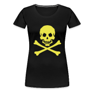 T-Shirts ~ Women's Premium T-Shirt ~ C - PIRATE CONTINENTAL