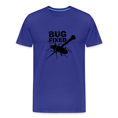 bug fixed azul - Men's Premium T-Shirt
