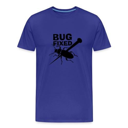 bug fixed azul - Men's Premium T-Shirt
