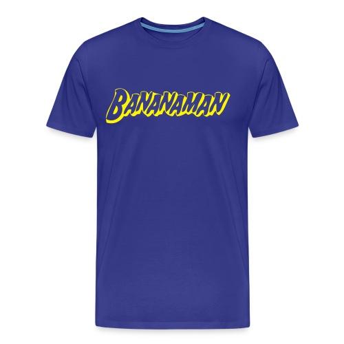 Bananaman Comfort t-shirt - Mannen Premium T-shirt