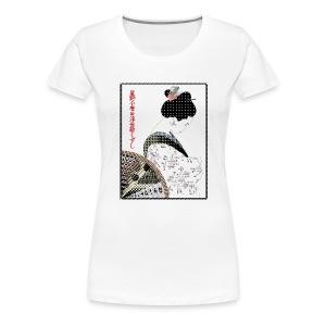 Geisha Classic Girlie - Women's Premium T-Shirt