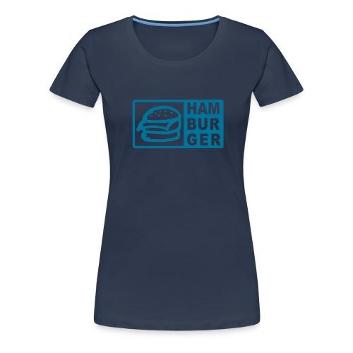 Hamburger - Frauen Premium T-Shirt