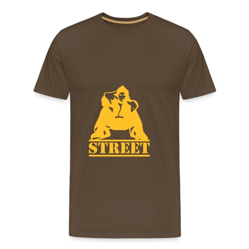 Men's Premium T-Shirt - boy,man,rap,shirt,shop,street,t-shirt,yellow