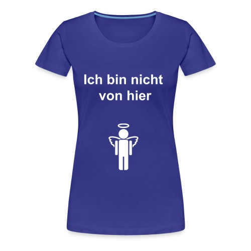 Angel blue - Frauen Premium T-Shirt