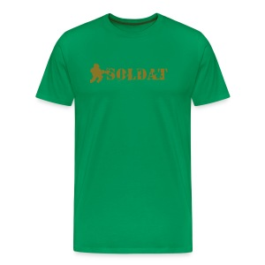 Soldat - gold - Men's Premium T-Shirt