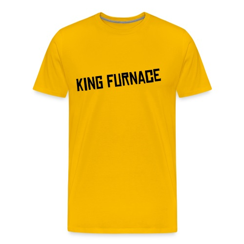 King Furnace Mens Comfort T-Shirt - Men's Premium T-Shirt