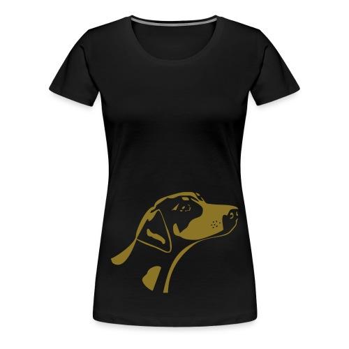 Dobermann - paita - Naisten premium t-paita