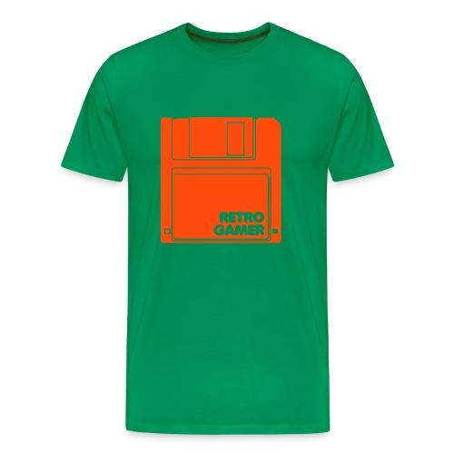 Retro Gamer - Premium T-skjorte for menn