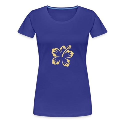 T-Shirt blau - Frauen Premium T-Shirt