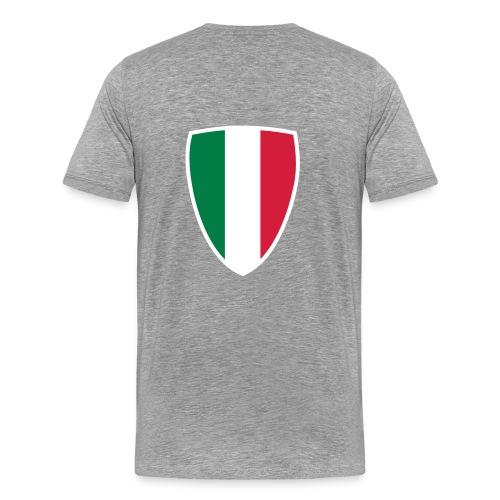 Italia Shield Colours - Men's Premium T-Shirt