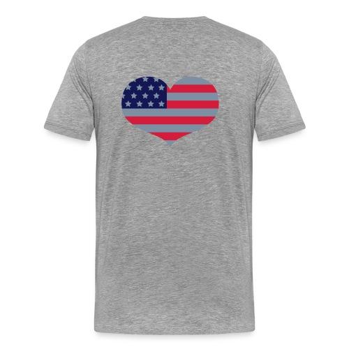 I Love USA - Men's Premium T-Shirt