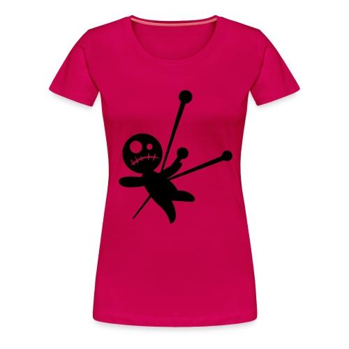 Voodoo chick shirt - Women's Premium T-Shirt