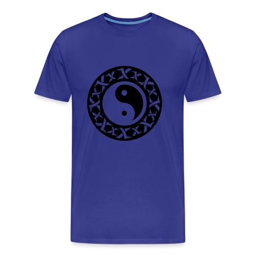 Yin Yang T-Shirt - Männer Premium T-Shirt