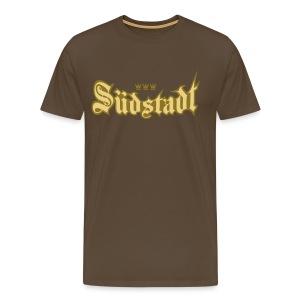 Suedstadt (Frakturschrift) - Männer Premium T-Shirt