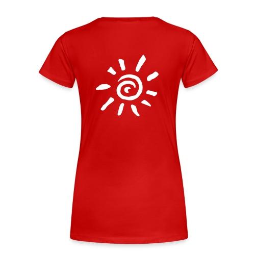 Sun blanc - T-shirt Premium Femme