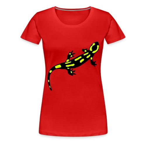 0,1 terrestris bunt - Frauen Premium T-Shirt