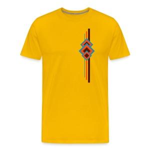 T-Shirt mit Motiv im Retro-Design - Männer Premium T-Shirt
