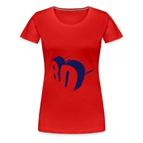 7Live - RedShirt 80er - Frauen Premium T-Shirt