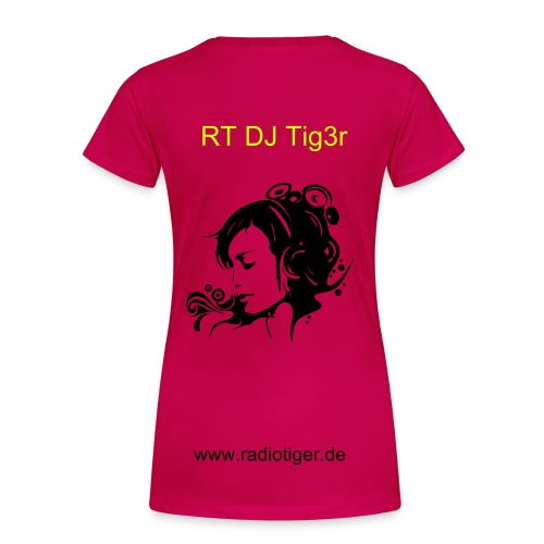 RT - Shirt ( rot )  - Frauen Premium T-Shirt