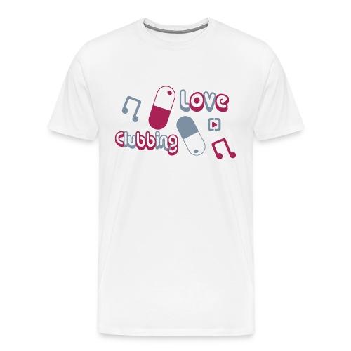 Love Clubbing - Men's Premium T-Shirt