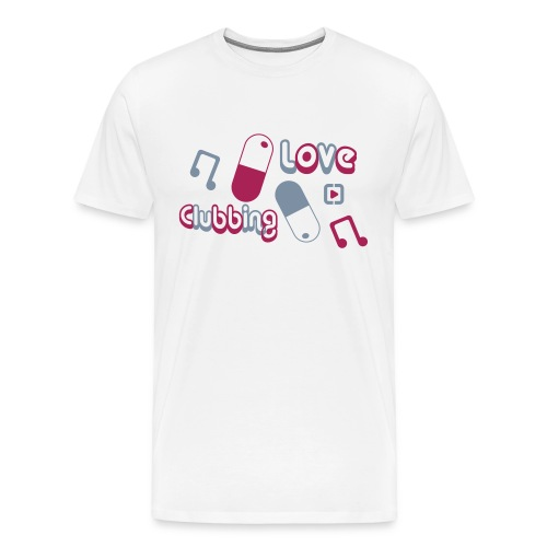 Love Clubbing - Men's Premium T-Shirt