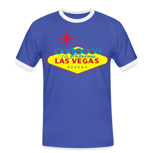 Las Vegas t-shirt - Men's Ringer Shirt