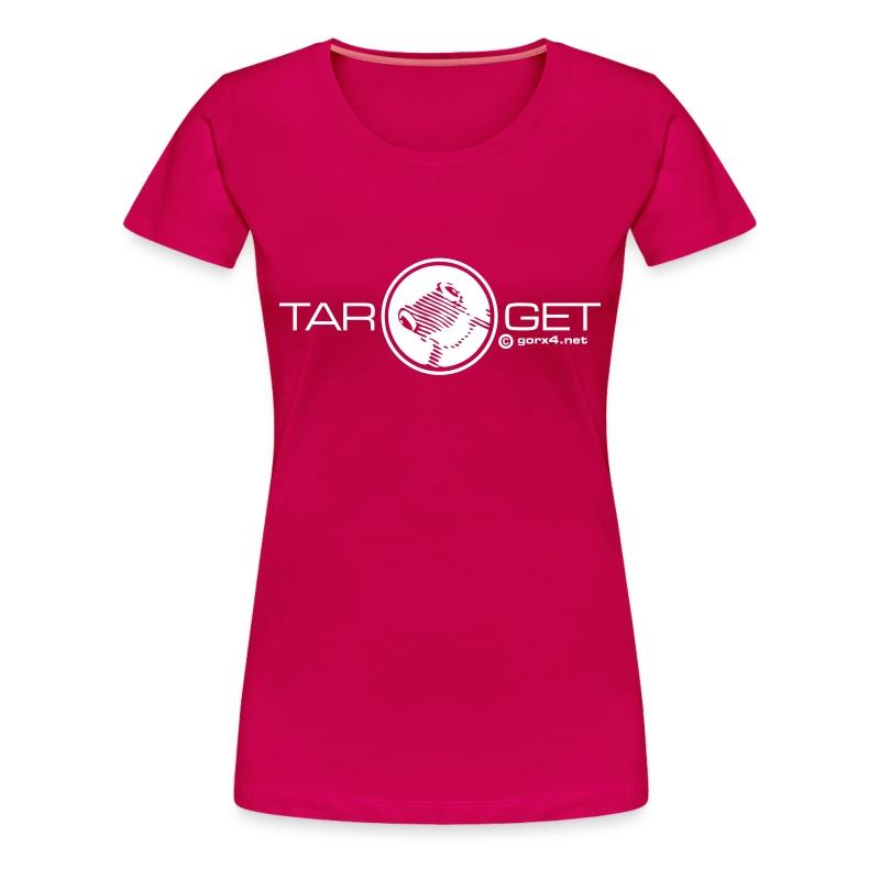 frog girl pink - Frauen Premium T-Shirt