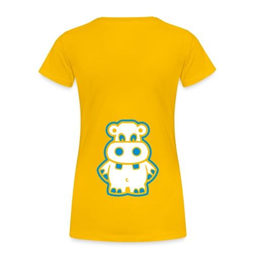 gult er kult - Premium T-skjorte for kvinner