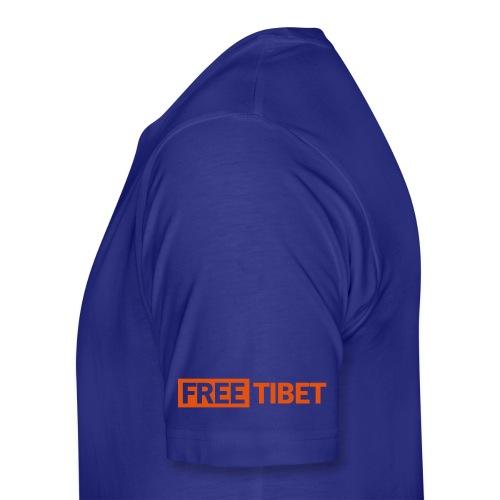 endless knot 2c + free tibet - Männer Premium T-Shirt