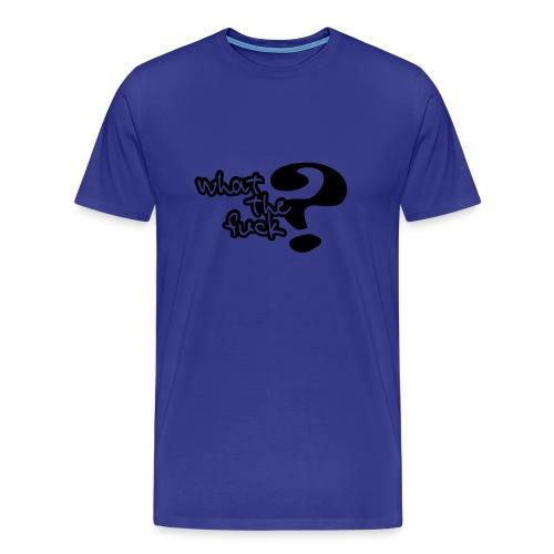 whatthefuck - Premium-T-shirt herr