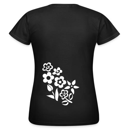 Flower Tattoo - Girl - Frauen T-Shirt