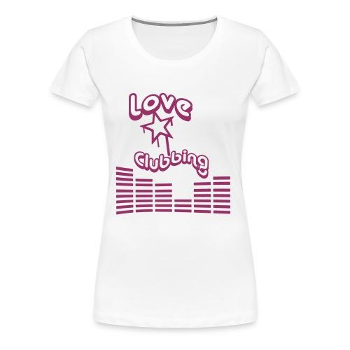 LE CLUB WHITE - T-shirt Premium Femme