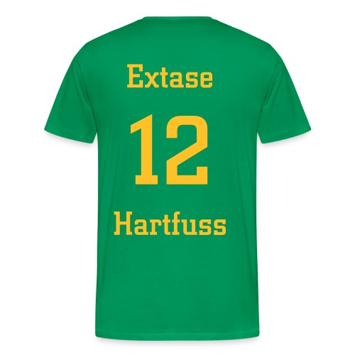 Extase Fan-Shirt bottlegreen - Männer Premium T-Shirt